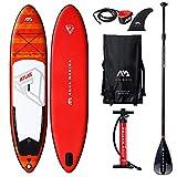 Aqua Marina Aquamarina Atlas-SUP-Stand Up Paddle Board mit Paddel, Leine, Magic Back Pack, und...