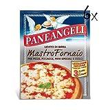 6x Paneangeli Lievito di birra Mastro fornaio Bierhefe pizza Mischung kuchen 3x7g