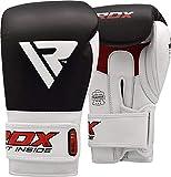 RDX Boxhandschuhe für Training und Muay Thai Rindsleder Punchinghandschuhe für Sparring,...
