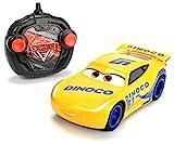 Dickie Toys 203084004 - 'Cars 3 Turbo Racer Cruz Ramirez', RC Fahrzeug, ferngesteuertes Auto, 1:24,...