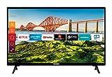 Telefunken XH24J501V 24 Zoll Fernseher (Smart TV inkl. Prime Video / Netflix / YouTube, HD ready, 12...