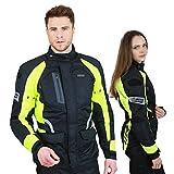 Motorradjacke -Spark- Sommer Winter Motorrad Roller Jacke Protektorenjacke Textil...