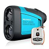 MiLESEEY Laser Golf Entfernungsmesser 600M mit Slope, ± 0,5m Genauigkeit, Flaggensperre, Scan...