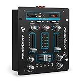 resident dj DJ-25 - DJ-Mixer, 2-Kanal Mischpult, DJ-Mischpult, USB-Port, MP3-fähig,...