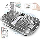 Sportstech 3D Vibrationsplatte VP300 | Mega Fett-Verbrenner + 5 Fitness-Bänder Extra | Riesige...