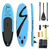 Streakboard Stand up Paddling Board, 304*77*15.5CM, Sup Board Aufblasbares mit Rutschfestes Deck, 6...