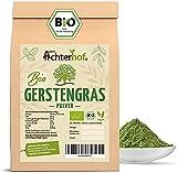 Gerstengras Pulver BIO (500g) | Aus deutschem Anbau | Rohkostqualität | 100% Gerstengraspulver |...