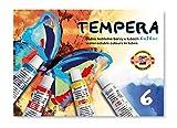 Koh-I-NOOR 01625470000016ml Set von Tempera Farbe (Pack von 6)