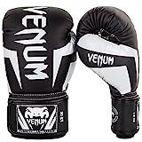 Venum Elite Boxhandschuhe 284 g schwarz / weiß