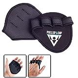 PULLUP & DIP Griffpolster Griffpads für Klimmzüge, Fitness, Bodybuilding & Krafttraining, 1 Paar...
