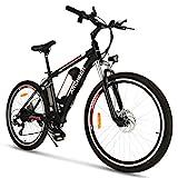 ANCHEER Elektrofahrrad Ebike Mountainbike, 26'/27.5' Elektrisches Fahrrad mit 36V 8Ah/10Ah/12.5Ah...