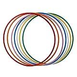 hoopomania® Hula Hoop Rohling, HDPE-20mm, Ø60cm, BLAU