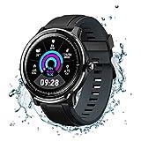 NACATIN Smartwatch Fitness Tracker Fitness Uhr Armbanduhr Sport Uhr IP68 wasserdichter 1,77 Zoll...