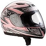 protectWEAR Unisex Kinder Sa03-pk-xxs Protectwear SA03 PK XXS Kinder Motorradhelm Integralhelm Gr e...