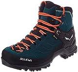 Salewa Damen WS Mountain Trainer Mid Gore-TEX Trekking-& Wanderstiefel, Atlantic Deep/Ombre Blue, 35...