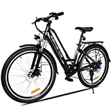 Tooluck E-Bike Elektrofahrrad, 26 Zoll 250W Citybike Elektrisches Fahrrad mit 36V 8Ah Lithium-Akku,...