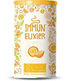 Immun-Elixier - Phyto-Pulver mit Vitamin C aus Acerola, Kurkuma, Zitrus-Bioflavonoiden, Selen, Zink,...