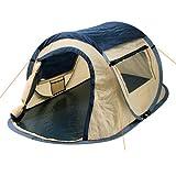 CampFeuer Wurfzelt Quiki I 2 Personen Quicktent I Campingzelt für Festival und mehr I...