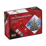 Idena 8325058 - LED Lichterkette mit 80 LED in warmweiß, mit 8 Stunden Timer Funktion und...