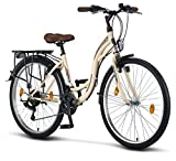 Licorne Bike Stella Premium City Bike in 26 Zoll - Fahrrad für Mädchen, Jungen, Herren und Damen -...