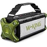 W-KING 50W(70W Gipfel) Bluetooth Lautsprecher IPX6 Wasserdicht, 24 Stunden Laufzeit, 8000mAh Power...