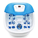 Fußbad Massagegerät Fussbad mit Massage mit Heizung mit Wasser, Elektrisches Fussbadewanne...