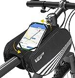 VUP Rahmentasche, doppelseitiger Rahmentasche Fahrrad, wasserdichter Fahrrad Lenkertasche,...
