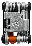SKS GERMANY TOM 18 Mini-Tool Multifunktionswerkzeug Fahrrad mit Neoprentasche und Flaschenöffner...