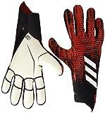 adidas PRED GL PRO Soccer Gloves, Black/Night met, 5