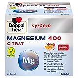Doppelherz system MAGNESIUM 400 CITRAT – Magnesium als Beitrag für die normale Funktion der...