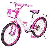 Actionbikes Kinderfahrrad Daisy - 20 Zoll - V-Break Bremse vorne - Seitenständer - Luftbereifung -...