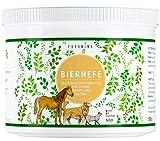 Furanima Bierhefe-Pulver 500g für Hunde, Pferde und Katzen - Bierhefe für Glänzendes Fell und...