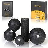 High Pulse® Faszien Set inkl. 2X Faszienball, 1x Mini Faszienrolle, 1x Duoball und Übungsposter...