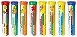 Brausetabletten Sortimentmix T&D Pharma - 8x20 = 160 German Brausetabletten - Vitamine und...