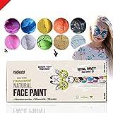 BioKidd Gesichtsfarbe Schminkset für Kinder Bio Natürliche Kinderschminke für Sensitive Haut,...