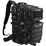 ProCase Militär Taktische Rucksack, Große Kapazität 3 Tage Armee Assault Pack Bug Out Bag Go Bag...