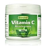 Vitamin C, 500 Gramm Pulver – für bärenstarke Abwehrkräfte, gesunde Zähne und Zahnfleisch,...