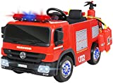 Actionbikes Motors Kinder Elektroauto Polizei / Feuerwehr SX1818 - 2 x 35 Watt Motoren -...