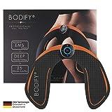 Bodify® EMS Trainingsgerät zur gezielten Stimulation der Po Muskulatur! - Muskelaufbau - EMS...