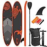 Nemaxx Stand up Paddle Board (SUP), orange/anthrazit-300x76x15cm, 300x76x15cm