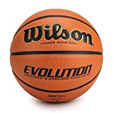 Wilson Unisex-Adult Evolution BSKT EMEA Basketball, Braun, 6