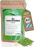Gerstengras Pulver Bio 1000g I direkt aus Bayern I Gerstengraspulver - Vegan und Rohkostqualität I...