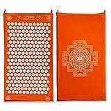 ShaktiMat Akupressurmatte original seit 2007   Orange Massagematte zur Durchblutung und Entspannung...