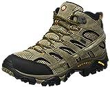 Merrell Herren Moab 2 Mid Leather Gore-tex Trekking und Wanderstiefel, Braun (Pecan), 40 EU