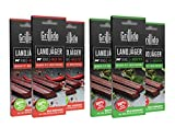 Grillido Landjäger I 6er Mixpack I Chili & Kräuter I Die Beef-Jerky Alternative mit wenig Zucker |...