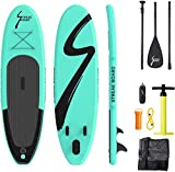 streakboard Sup Board, aufblasbares Stand Up Paddle mit rutschfestes Deck, 6 Zoll Dick, Stand Up...