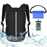 VBIGER Dry Bag wasserdichte Tasche - 20L Rucksack Faltbar Packsack mit Wasserdichter Handytasche und...