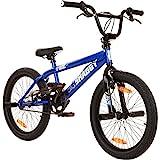 deTOX BMX 20 Zoll Fahrrad Big Shaggy Spoked 8 Farben zur Auswahl + 4 Pegs inkl.!