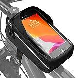 Velmia Fahrrad Rahmentasche Wasserdicht - Fahrrad Handyhalterung ideal zur Navigation -...