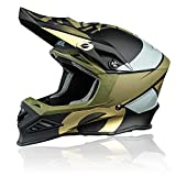 O'NEAL | Motocross-Helm | MX Enduro Motorrad | Innovative und leichte Fiberglas Außenschale,...